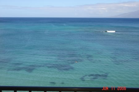 1 week in Maui Ocean Front Resort - Lahaina - Apartamento