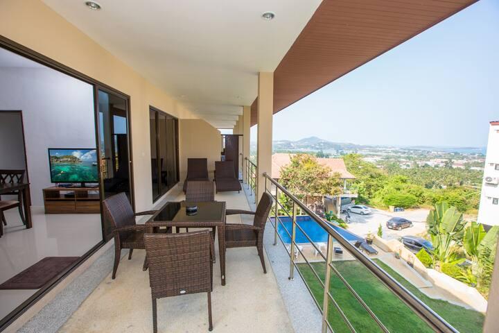 Top Floor Seaview Big Terrace