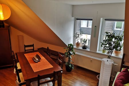 Comfortable apartment right on the Rennsteig