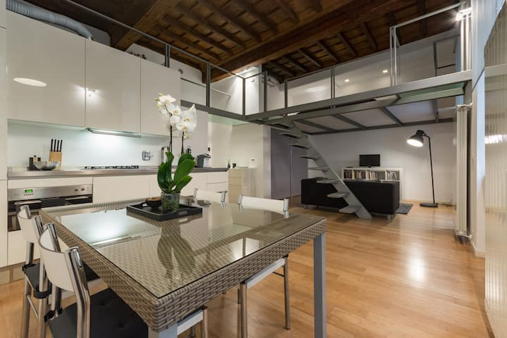 Charming Loft in the Heart of the City