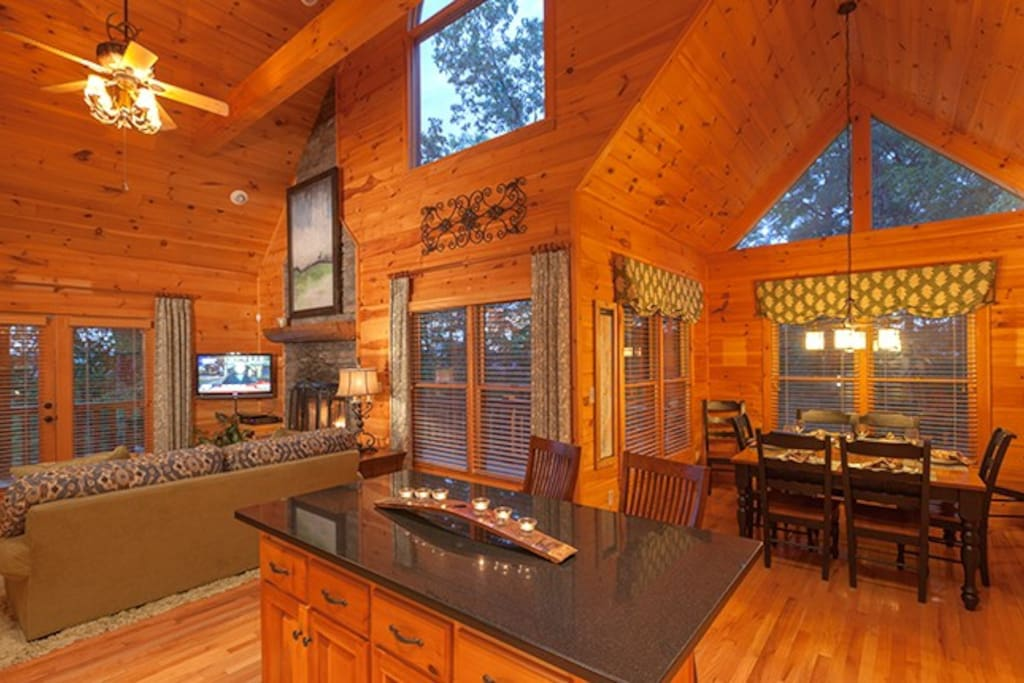 Open Floor Plan and Large Windows Offering Breathtaking Views At Every Turn