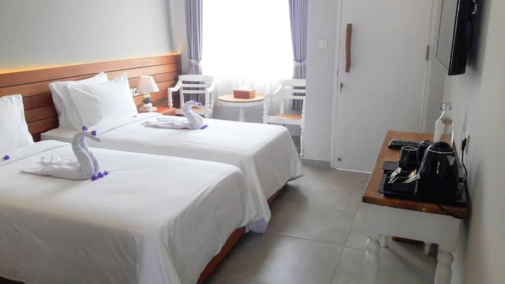 Mantra Gili T, 2 Single Beds, 200M from the beach