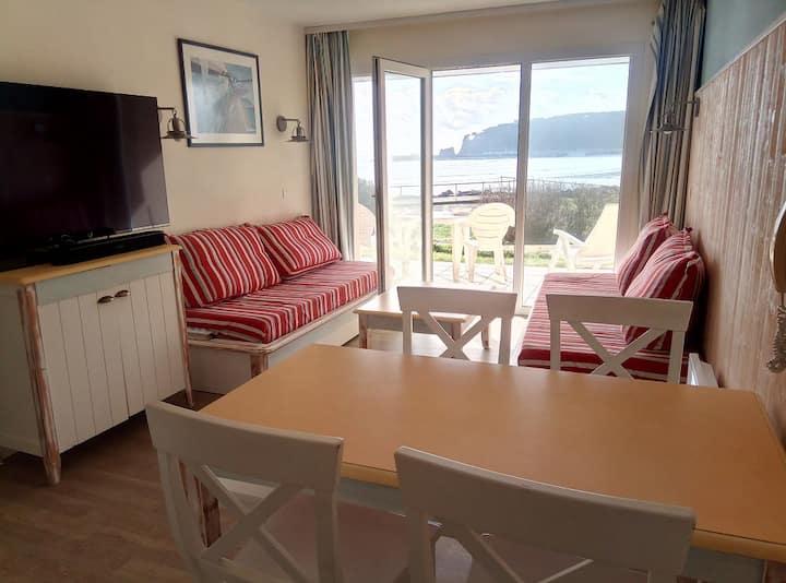 Appartement en résidence, vue mer