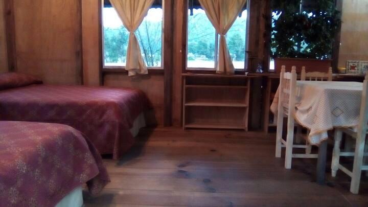 Cabaña-Chalet Completa para 2 a 4 personas