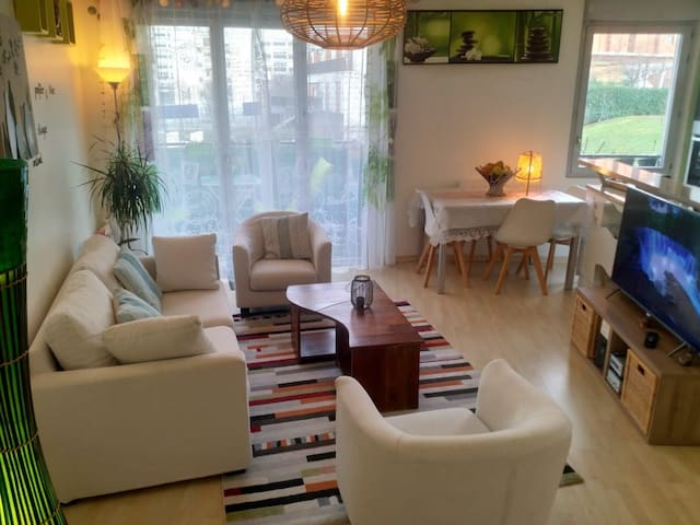 Nice flat, 20 minutes from the heart of Paris