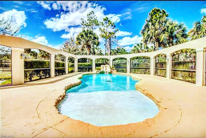 Equestrian Pool home Rent to own 930k 4K per month
