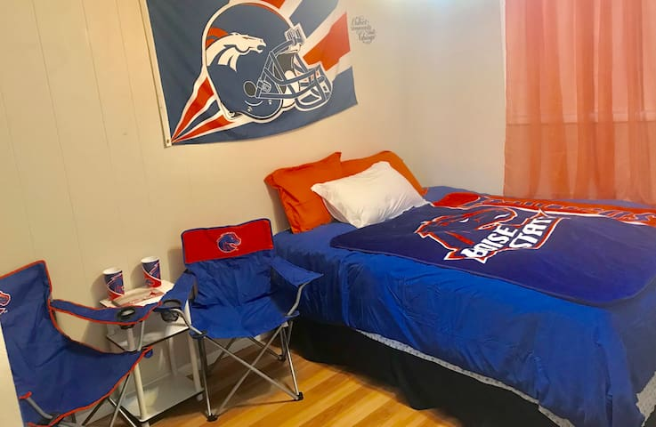 Private entry, 2 Room Boise State University suite