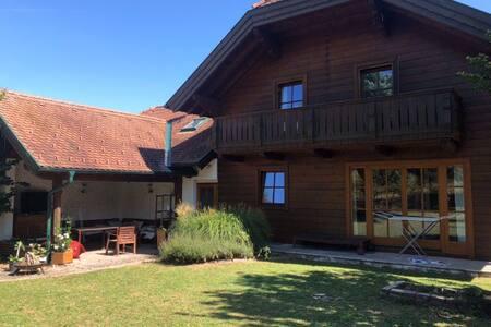 Holzhaus im Mostviertel  Ideal für Familien
