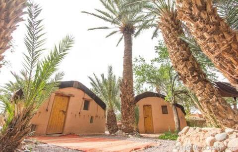 Берберские палатки с бассейном и животными