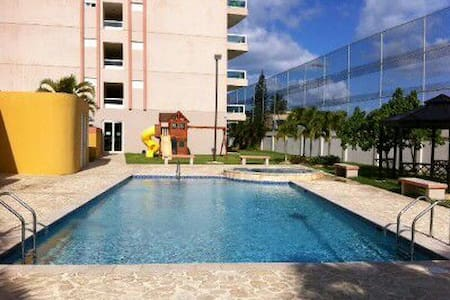 Beach apt with pool and two rooms - Luquillo