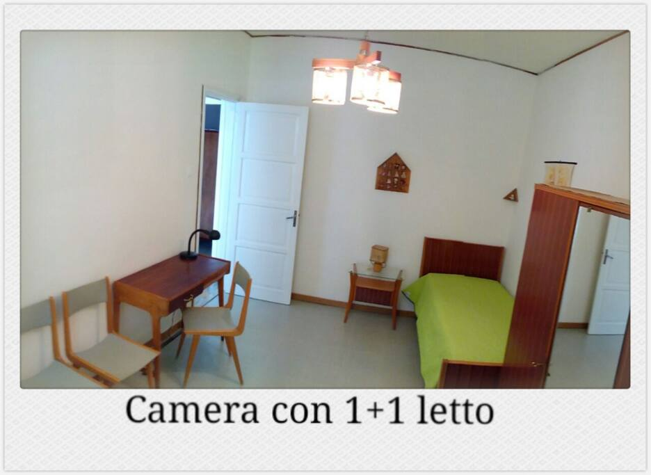 Camera Uno con di 2 letti- Room 2 beds
