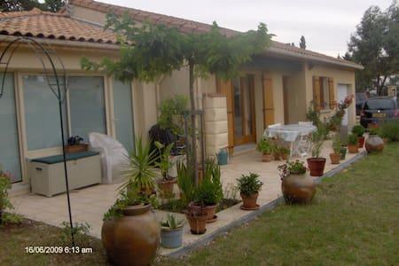 chambre particulière dans maison plein pied, clôs - Peyrins - Dom