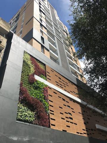Flat in historic center of Bogotá