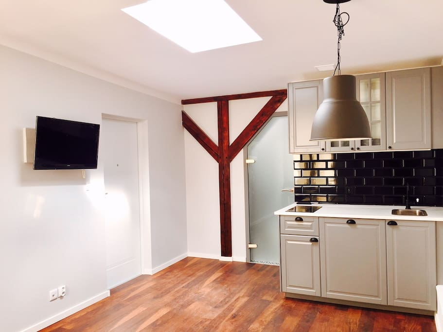 TV, internet, fully equipped kitchen