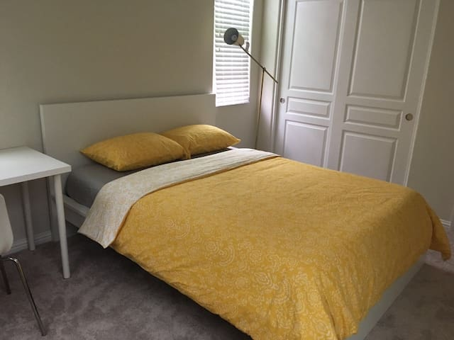 New bedroom in a nice house close to highway