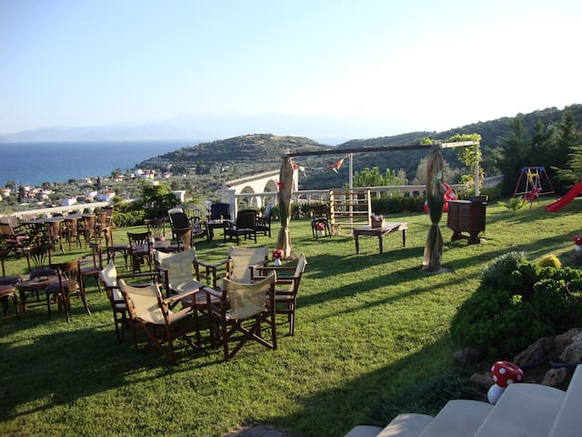 Luxury Eva's villa with amazing sea view - Magnesia Prefecture - Villa