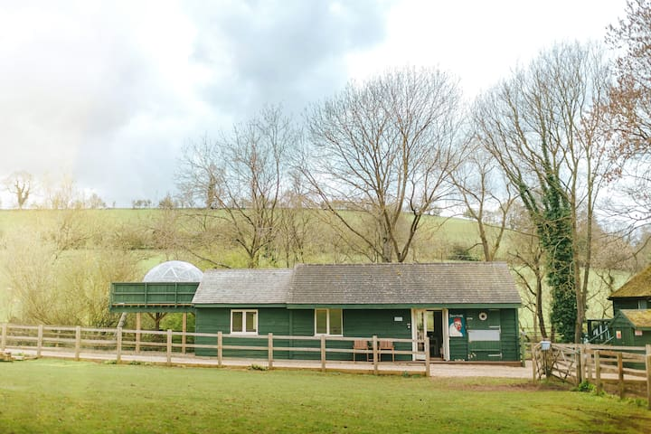 Chicken Shed Lodge in Upper Tysoe, Warwickshire