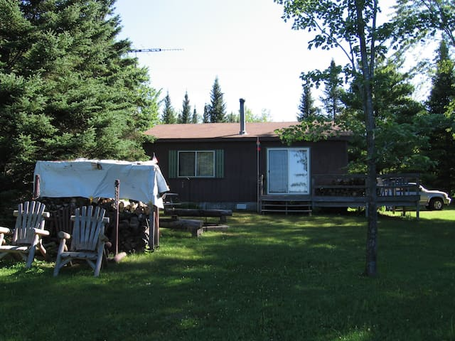 Our Little Cabin on Soo Lake (Lac Sault Dore)