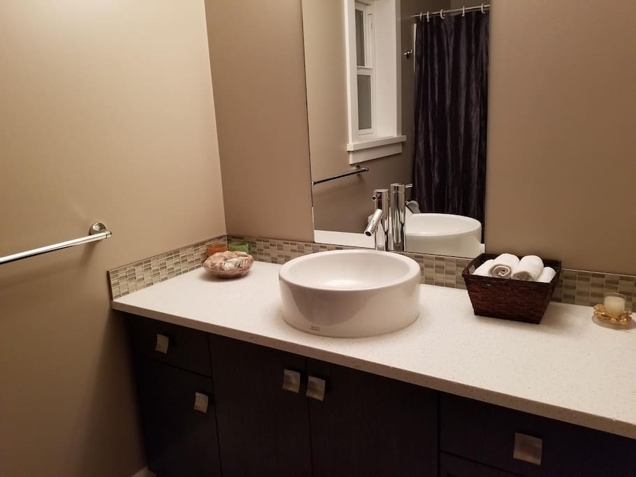 private bathroom for you to enjoy!