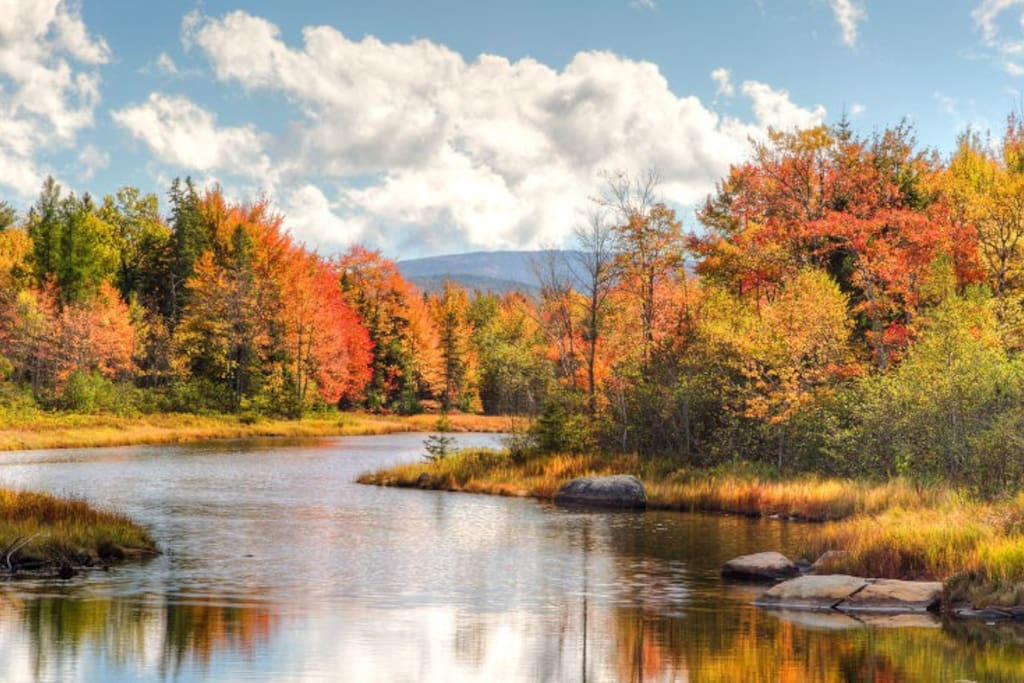 You don't want to miss the fall foliage between the Adirondacks and the Catskills in  New York State