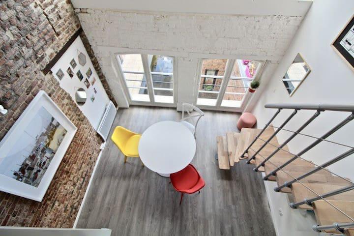 Appartement 40 m2 en plein cœur du vieux Lille.