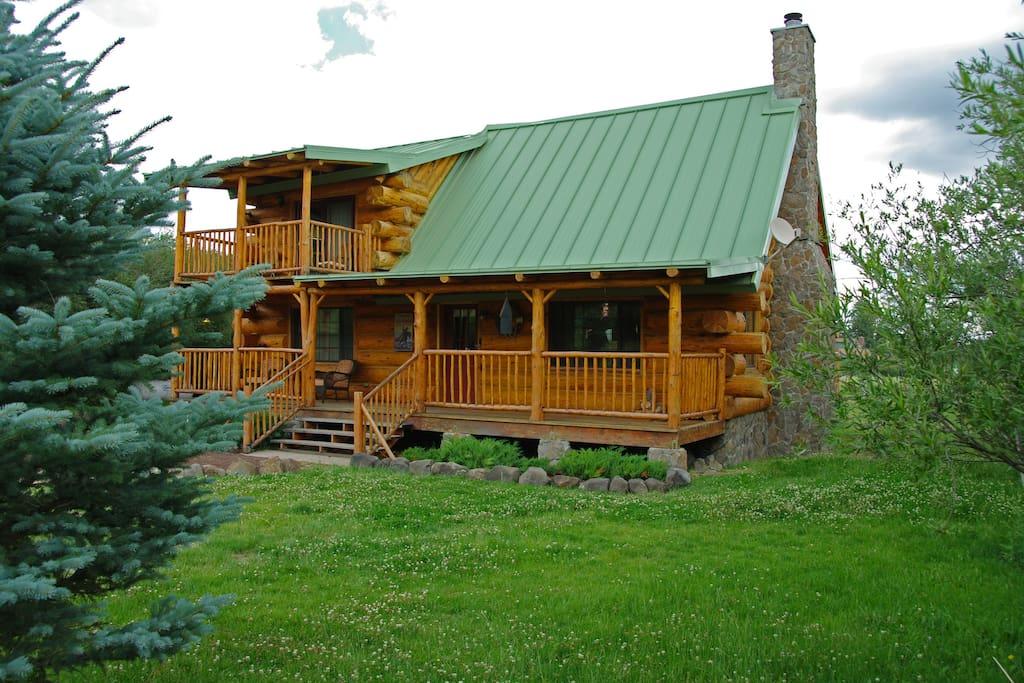 Little ponderosa cabin cabins for rent in greer arizona for Ponderosa cabins california