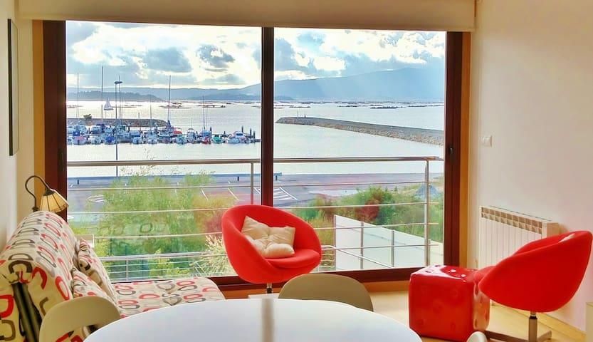 Apartamentos con impresionantes vistas al mar - Vilanova de Arousa
