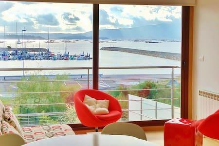 Apartamentos con impresionantes vistas al mar - Vilanova de Arousa - Társasház