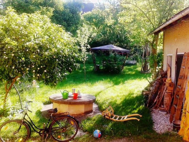 Zu Gast in Haus und Garten,  mit Familienanschluss