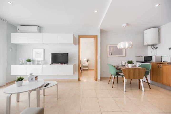 Precioso apartamento mediterráneo WIFI! VT-46428-V