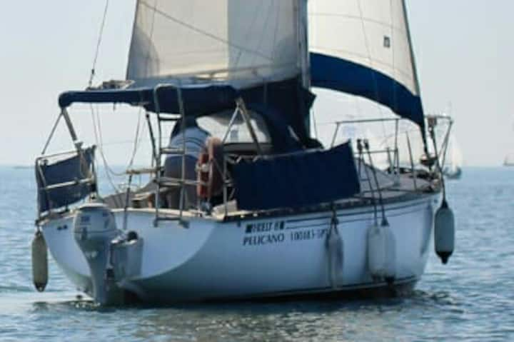 Sailboat 8meters *Free parking* amazing experience