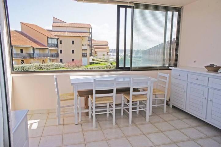Studio 4 personnes,  2 min à pieds de la plage - Capbreton - Apartamento
