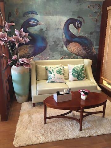 红谷滩红谷中大道万达旁海航白金汇泰式风情精品公寓 - 南昌市 - Apartamento