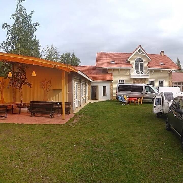 Гостевой дом в черте города