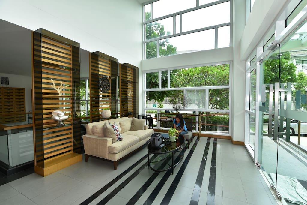 Amari Residence lobby