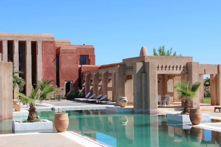 "Villa ""Dar Giulia"" (4rooms-8pers) Exclusive. - Marrakesh - Huis"