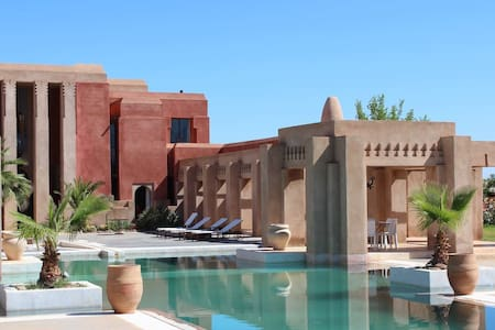 "Villa ""Dar Giulia"" (4rooms-8pers) Exclusive. - Marrakech - Rumah"