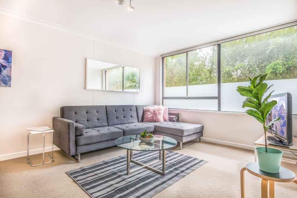 Cozy living corner