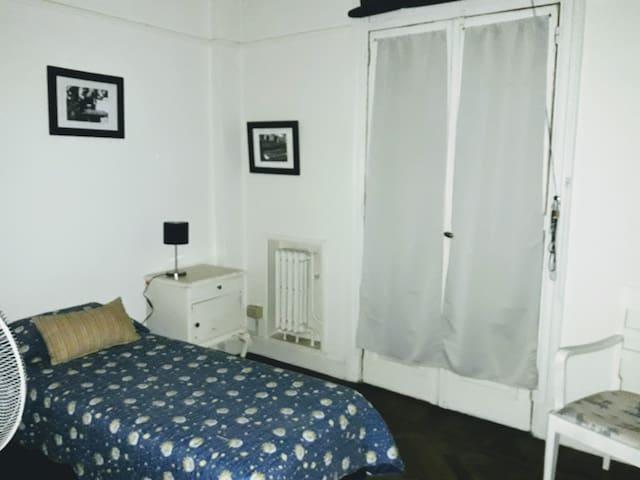 Habitación single en Palermo