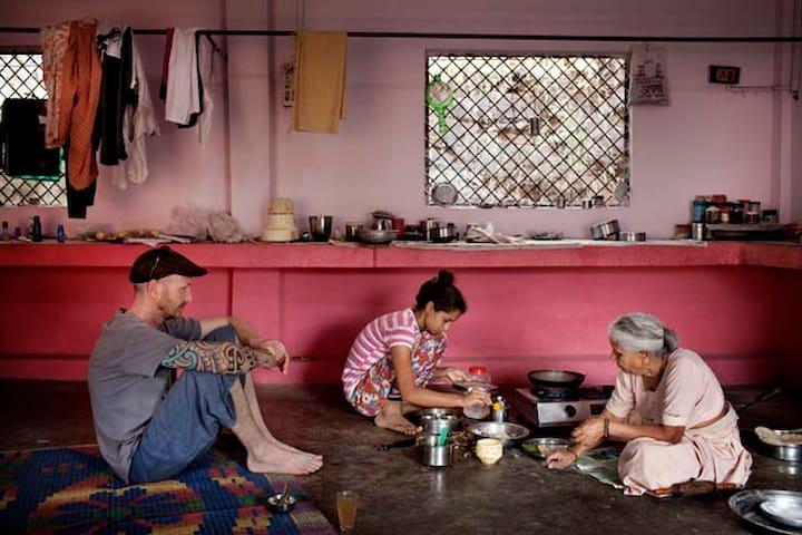 Laidback Ashram Homestay - Omkareshwar - Casa