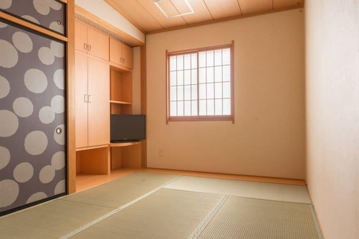 Experience Japanese style TATAMI room