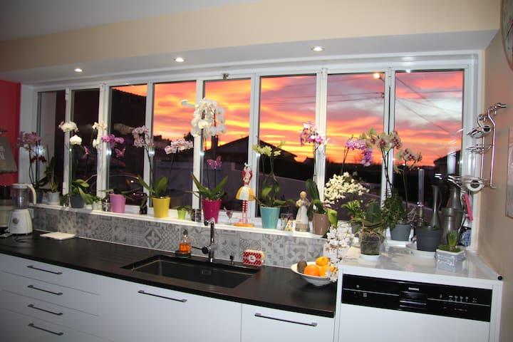 La maison des orchidées - Cholet - Bed & Breakfast