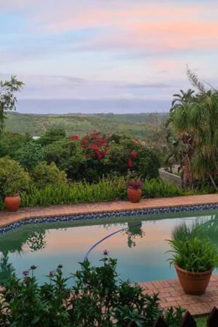 Valley view airbnb east london south africa