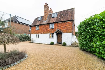 Comfortable & cosy 17th century Listed Cottage - Kemsing - 独立屋