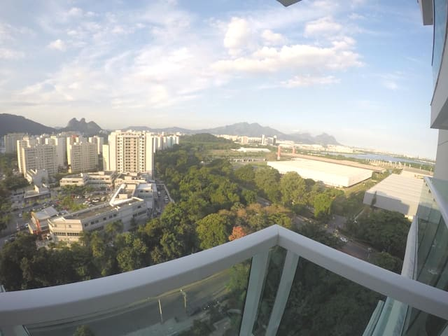Flat Close to Riocentro & Beaches - 16th Floor