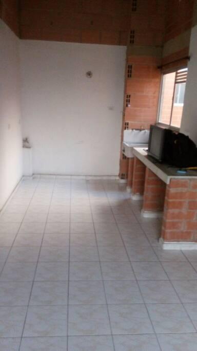 espacio para cocina