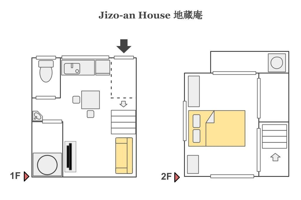 Floor map of the house
