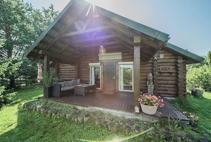 Escape to nature | Rustic House & Sauna | Lake