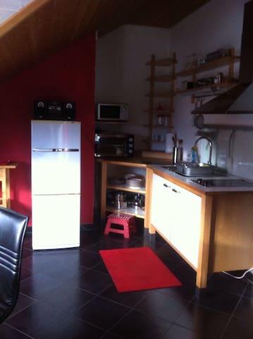 Schöne 1-Zimmer Studiowohnung mit Seeblick