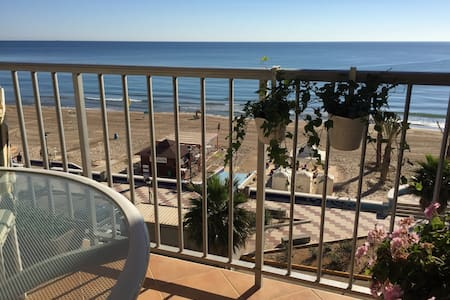 Spain-Mediterranean beachfront. Relax+wifi+golf - Mareny de Barraquetes - Appartement